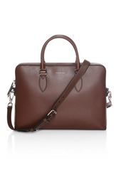 Burberry Barrow Smooth Leather Briefcase