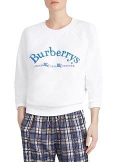 Burberry Battarni Retro Logo Sweater