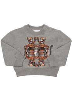 Burberry Bear Print Cotton Sweatshirt