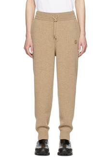 Burberry Beige Cashmere Huntley Lounge Pants