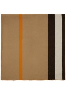 Burberry Beige Icon Stripe Throw Blanket