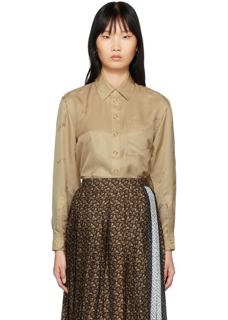 Burberry Beige Juliette Shirt