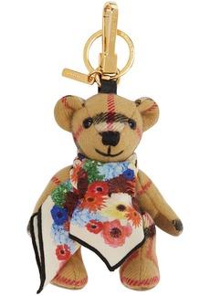 Burberry Beige Thomas Bear Charm Keychain