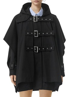 Burberry Belted Cape Coat