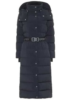 Burberry Belted down coat