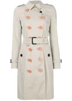Burberry belted trench coat