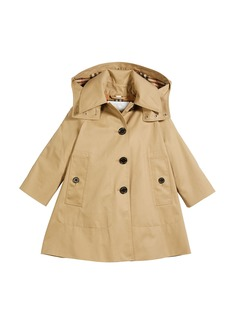 Burberry Bethel Hooded Trenchcoat  Size 4-14