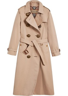 Burberry Bird button trench coat