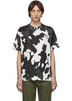 Burberry Black & White Cow Carrick T-Shirt