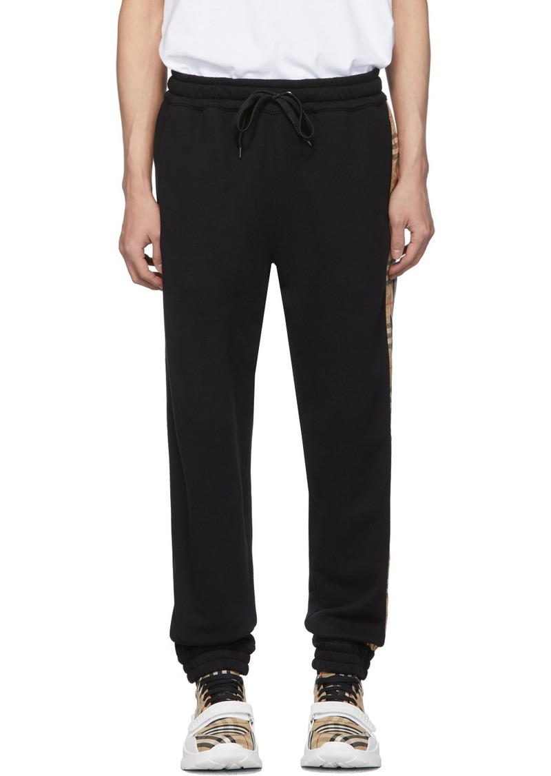 Burberry Black Atler Lounge Pants