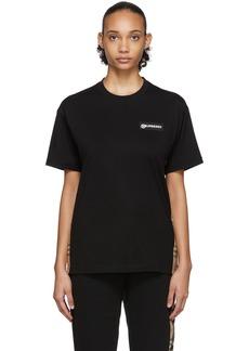 Burberry Black Carrick T-Shirt