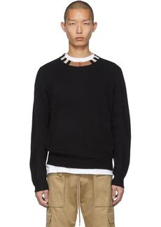 Burberry Black Cashmere Noland Sweater