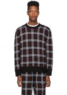 Burberry Black Check Fletcher Sweater