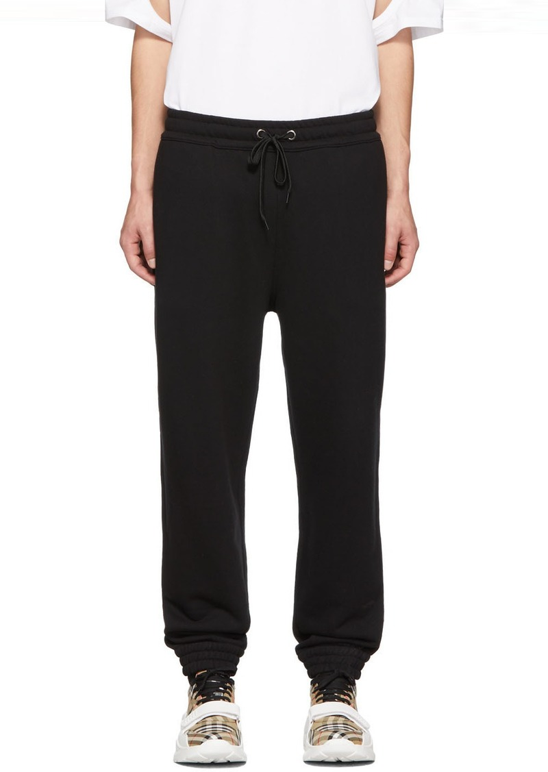 Burberry Black Fetchford Lounge Pants