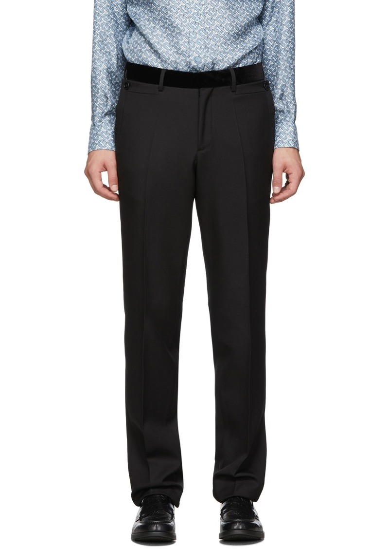 Burberry Black Formal Trousers