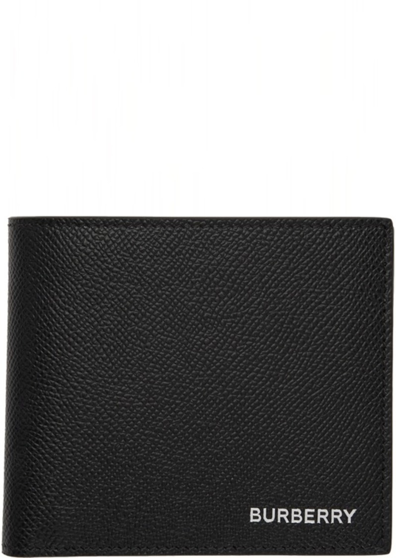 Burberry Black International Bifold Wallet
