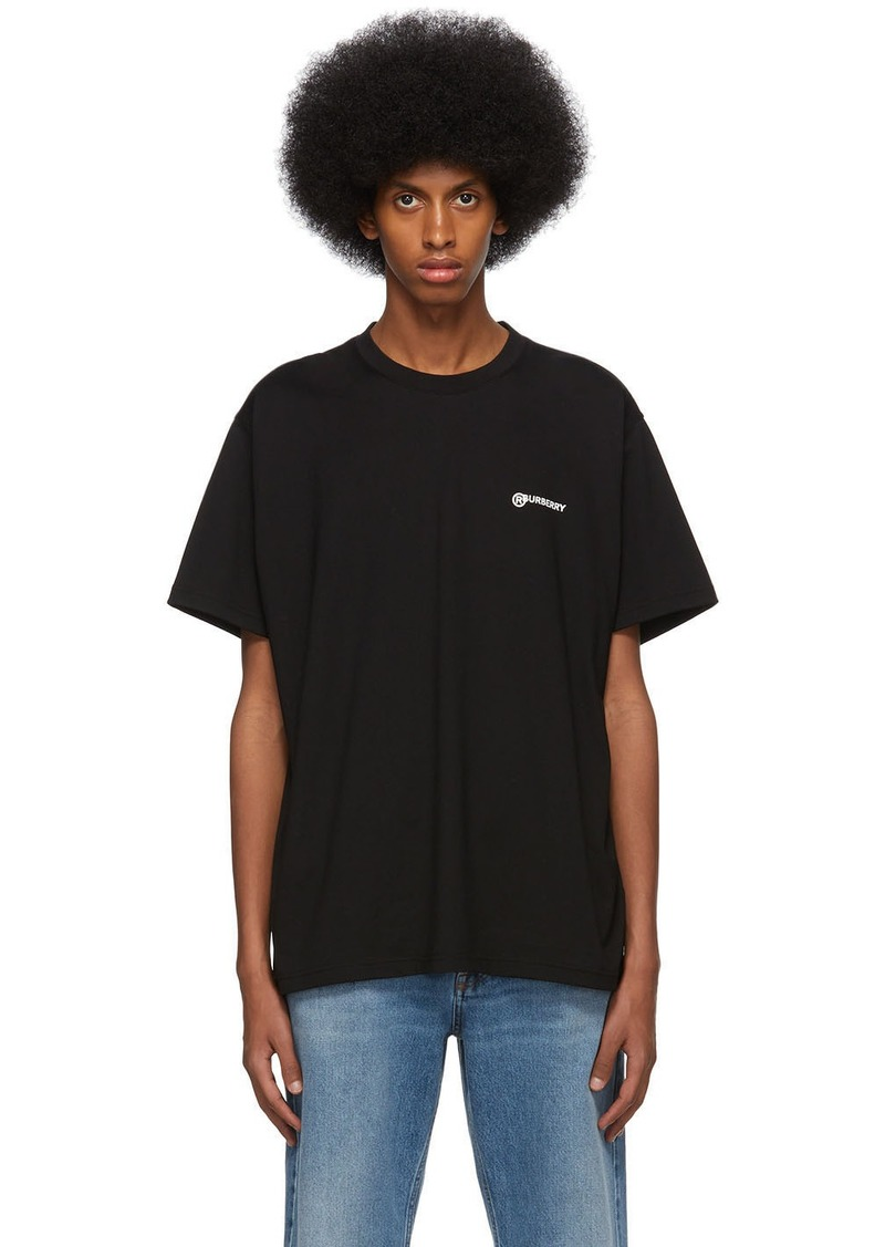Burberry Black Justin T-Shirt