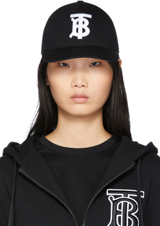 Burberry Black Logo Baseball Cap
