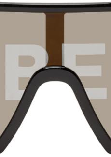 Burberry Black Logo Sunglasses