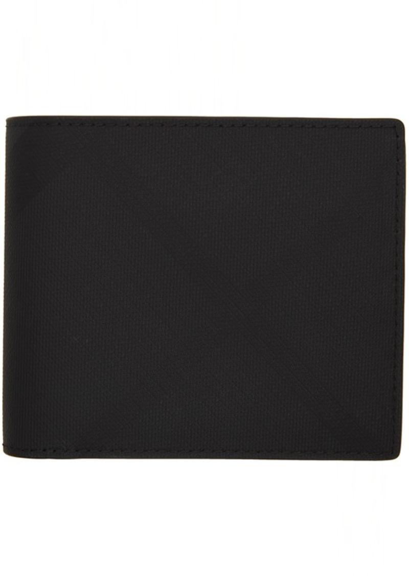 Burberry Black London Check Ronan Wallet