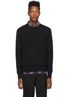 Burberry Black Monogram Collins Sweater