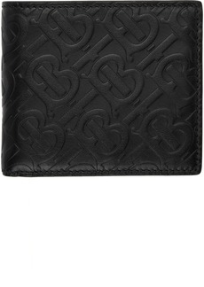 Burberry Black Monogram International Wallet
