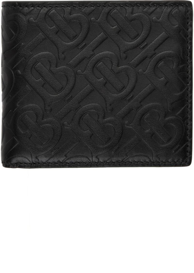 Burberry Black Monogram International Wallet