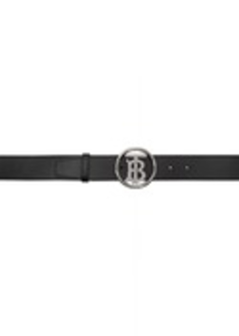 Burberry Black Outline Belt