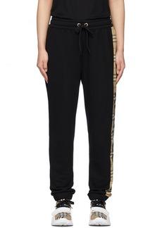 Burberry Black Raine Lounge Pants