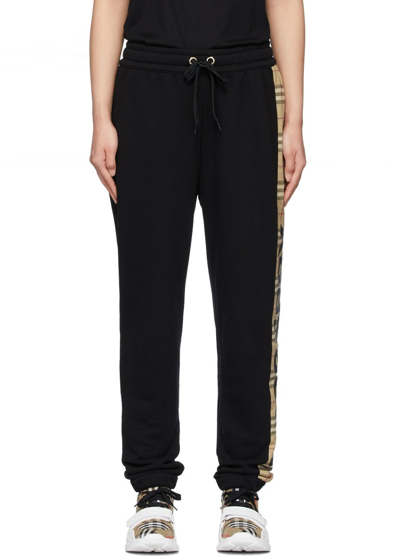 Burberry Black Raine Lounge Pants