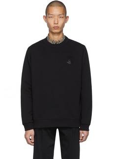 Burberry Black Rhinestone Emberson Sweatshirt