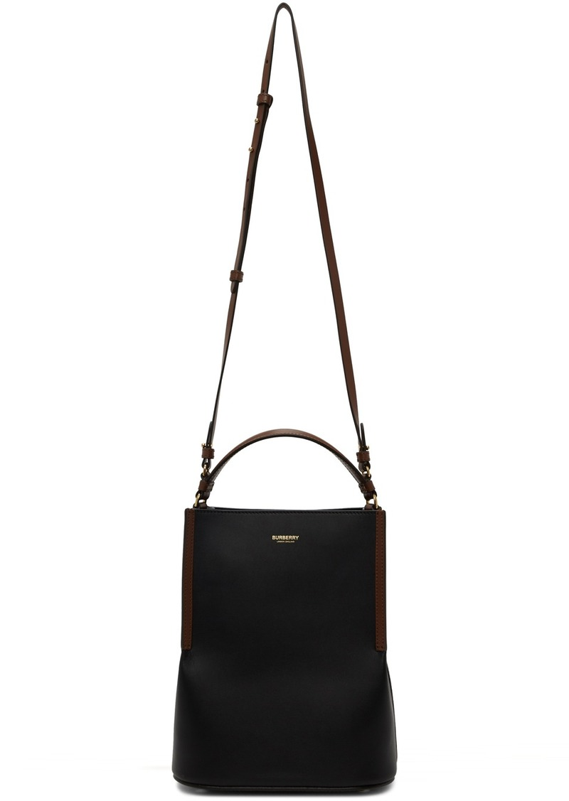 Burberry Black Small Peggy Bucket Bag