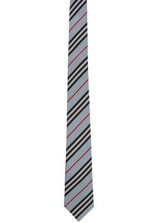 Burberry Blue Check Manston Tie