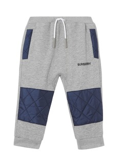 Burberry Boy's Mio Drawstring Sweatpants w/ Quilted Insets  Size 12M-2