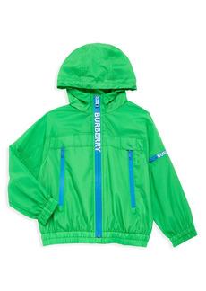 Burberry Boy's Telford Hooded Nylon Jacket