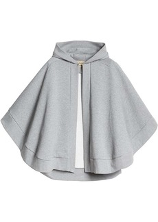 Burberry branded cape