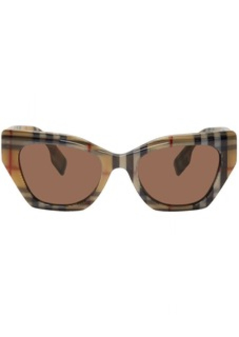 Burberry Brown Acetate Cressy Sunglasses