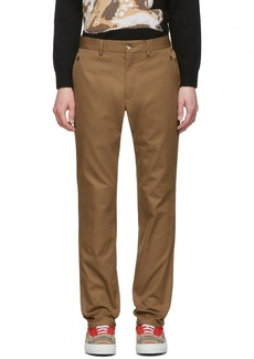 Burberry Brown Classic Trousers
