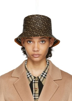 Burberry Brown Monogram Bucket Hat