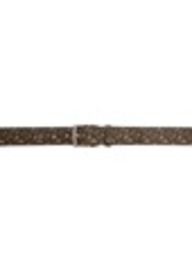 Burberry Brown Monogram E-Canvas Belt