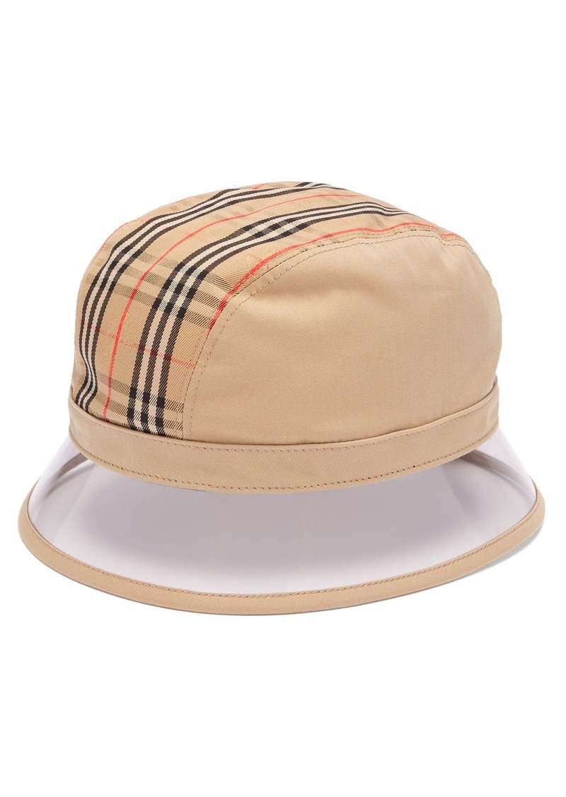 Burberry Burberry 1983 Vintage check bucket hat  9051b37935c