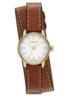 Burberry 30mm Utilitarian Double-Wrap Watch