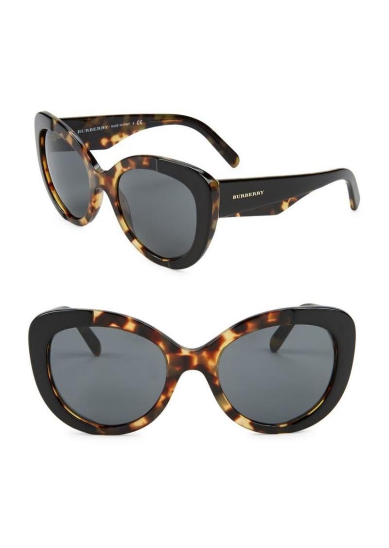 2ceda9ce09 Burberry Burberry 57MM Cat Eye Sunglasses
