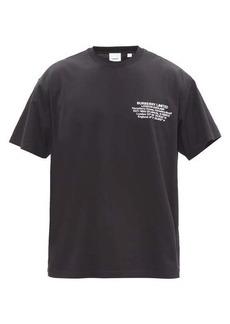 Burberry Abel logo-print cotton-jersey T-shirt