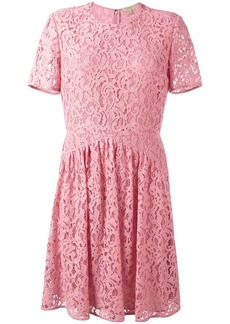 Burberry 'Abito Christy' dress - Pink & Purple