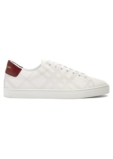 Burberry Albert low-top leather trainers