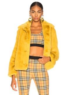 Burberry Alnswick Faux Fur Jacket