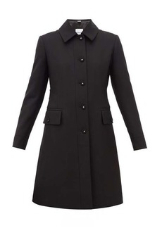 Burberry Angus single-breasted wool-blend coat