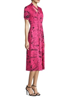 Burberry Antonina Silk Dress