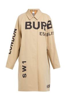 Burberry Antonio cotton-gabardine car coat
